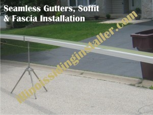 Soffit & Fascia, Seamless Gutters Installation in Chicago 2