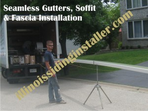 Soffit & Fascia, Seamless Gutters Installation in Chicago