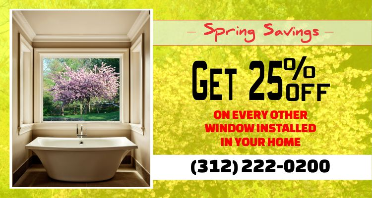 Spring Special - 25 percent OFF Sale on Every Other Window Installed!!