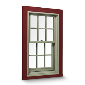 400 SERIES TILT-WASH DOUBLE-HUNG aluminum clad wood window by Anderson