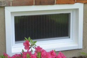 Vinyl Basement Windows Installation