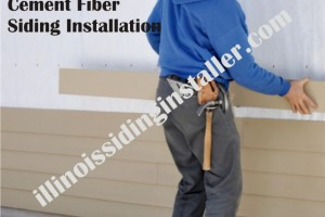 Cement Fiber Siding Installation