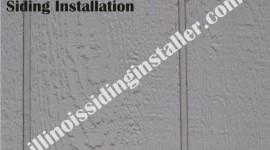 Hardboard Composite siding installation in Illinois 1