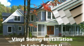 Vinyl Siding Installation Lake Forest IL, by EDMAR Contractors