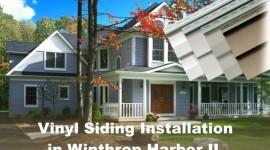 Vinyl Siding Installation Winthrop Harbor IL, by EDMAR Contractors