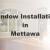 New Window Installation Mettawa IL